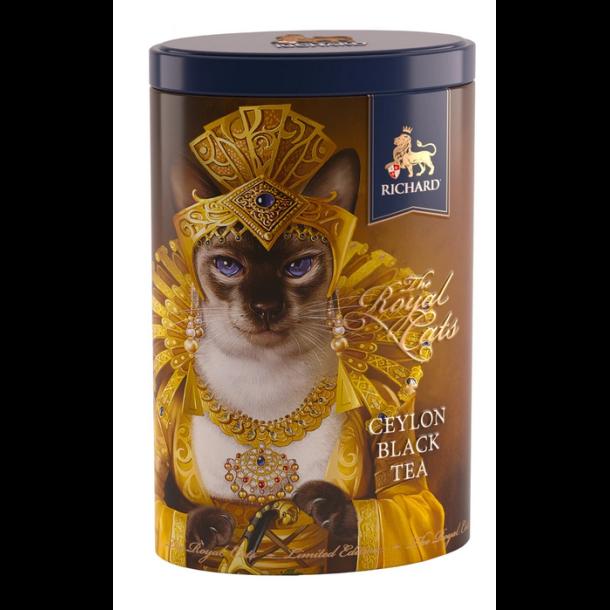 "Ceylon Svart Te ""The Royal Cats"" SIAMESE Richard, 80g"