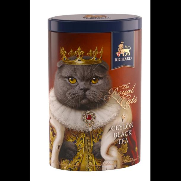 "Ceylon Svart Te ""The Royal Cats"" SCOTTISH FOLD Richard, 80g"