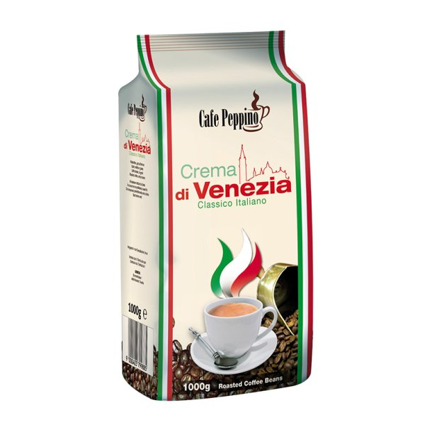 Cafe Peppino Crema di Venezia Kaffebønner, 1000g