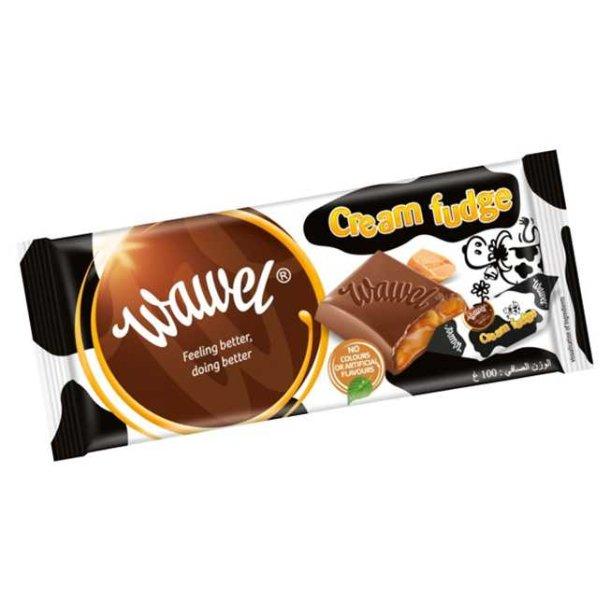 Melksjøkolade Cream Fudge Wawel, 100g
