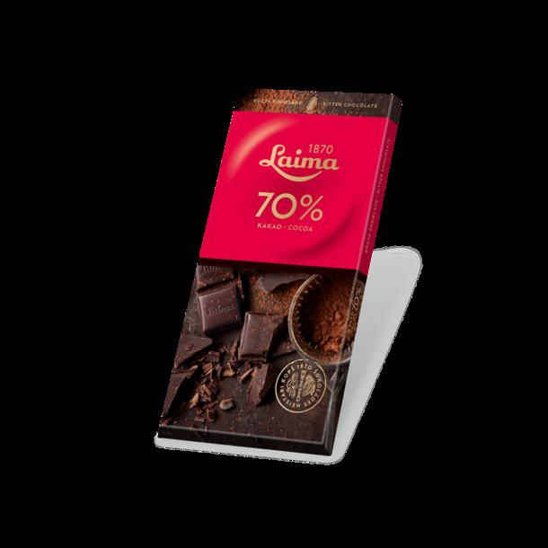LAIMA mørk sjokolade, 100g