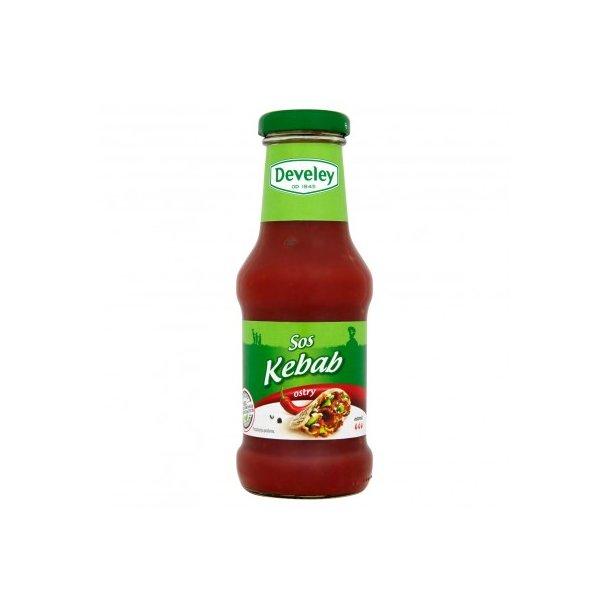 Kebab hot Saus Develey, 200ml
