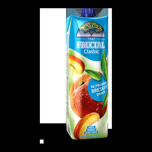 Fersken juice Fructal, 1l