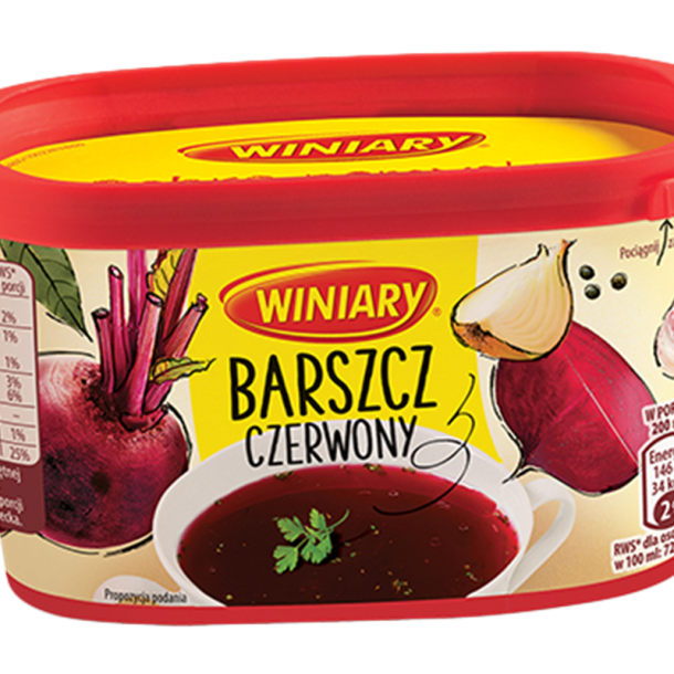 Red Borsch Instant suppe, 170g