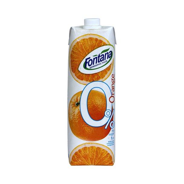 Appelsin nektar zero Fontana, 1l