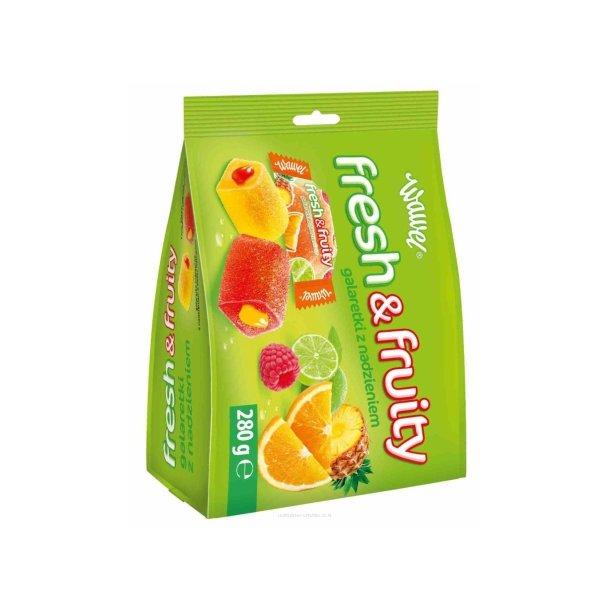 """Gelekonfekter """"Fresh & Fruity"""" WAWEL, 280g"""