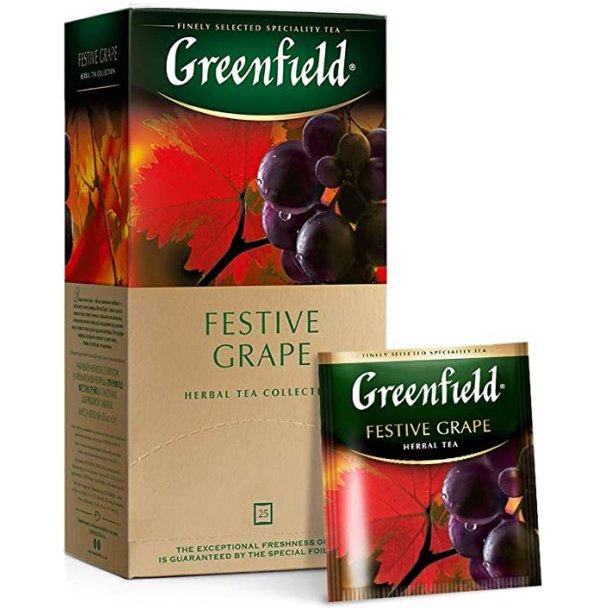 Festive Grape Greenfield Herbal Te, 25 puser x 2g