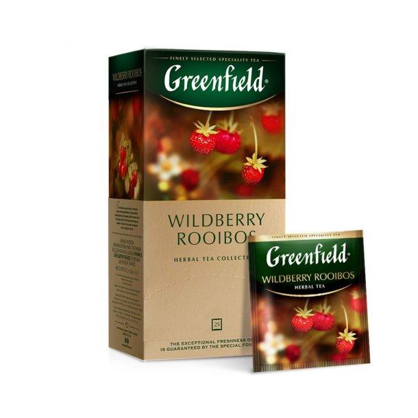 Wildberry Rooibos Greenfield Herbal Te, 25 puser x 1,5g