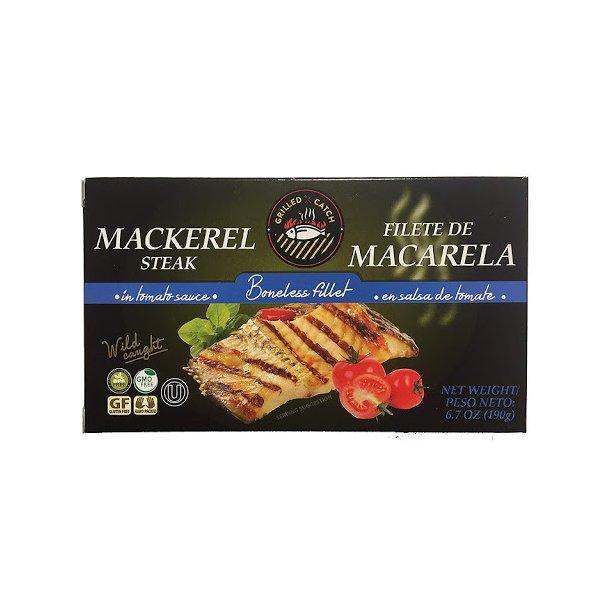Grillet makrell i tomat sauce, 190g