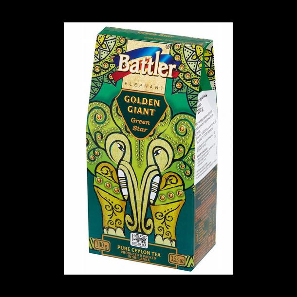 Ceylon Grønn Te uten tilsetningsstoffer Battler, 100g