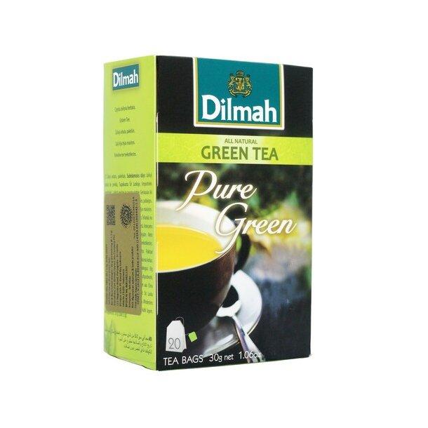 Grønn Te Pure Green DILMAH, 30g (20x1,5g)