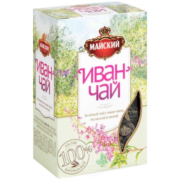 Grønn Te Ivan te med sitronmelisse og mynte Løse Blad, 75g