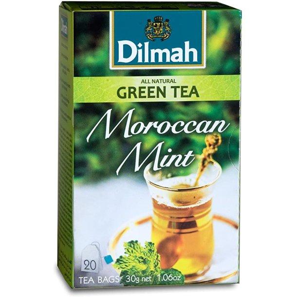 Grønn Te Moroccan Mint DILMAH, 30g (20x1,5g)