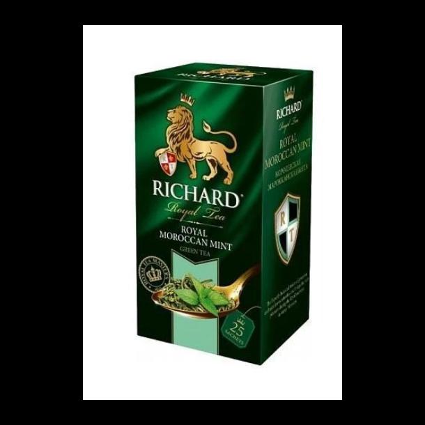 Grønn Te ''Royal Moroccan Mint'' Richard, 50g (25x2g)