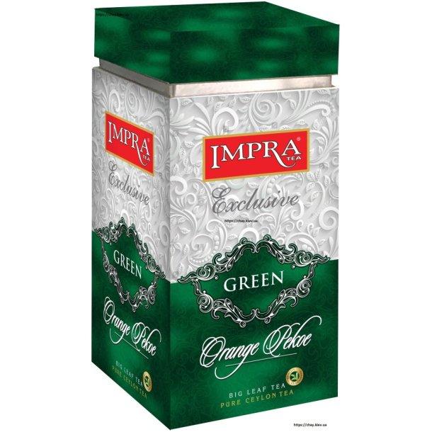 Grønn Te Orange Pekoe IMPRA i metallboks, 200g