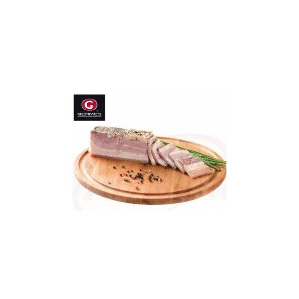 Svinekjøttbryst røkt med hvitløk Germes, 350g