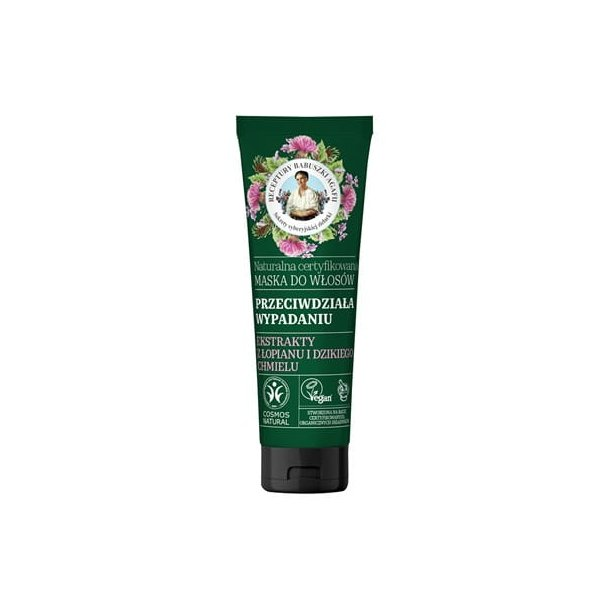Naturlig sertifisert hårmaske som forhindrer hårtap, 200ml