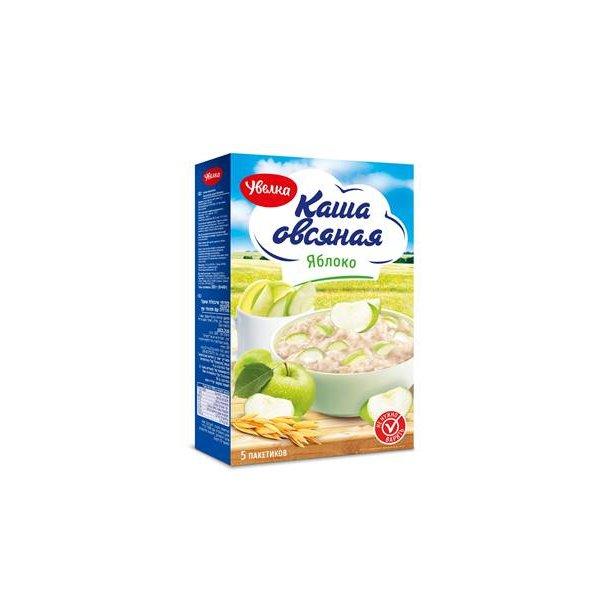 Havregrøt med epler UVELKA, 200g (5 x 40g)