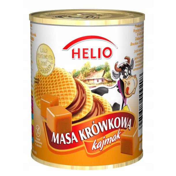 Kondensert melk med karamellsmak HELIO, 400g