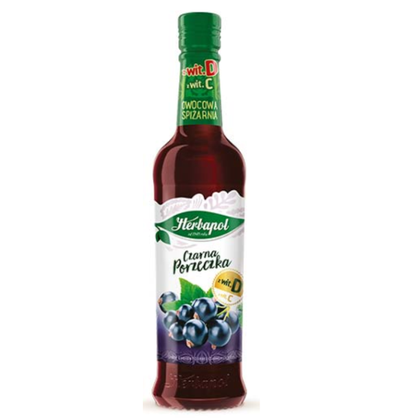Herbapol Solbær sirup, 420ml