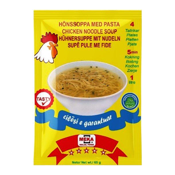 Kyllingsuppe med nudler Meka, 65g