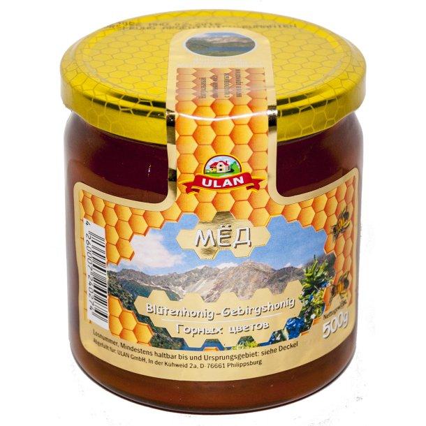 Honning Fjellblomster Ulan, 500g