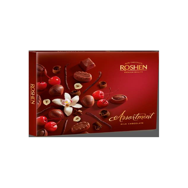 ROSHEN Melkesjokolade konfekter, 145g
