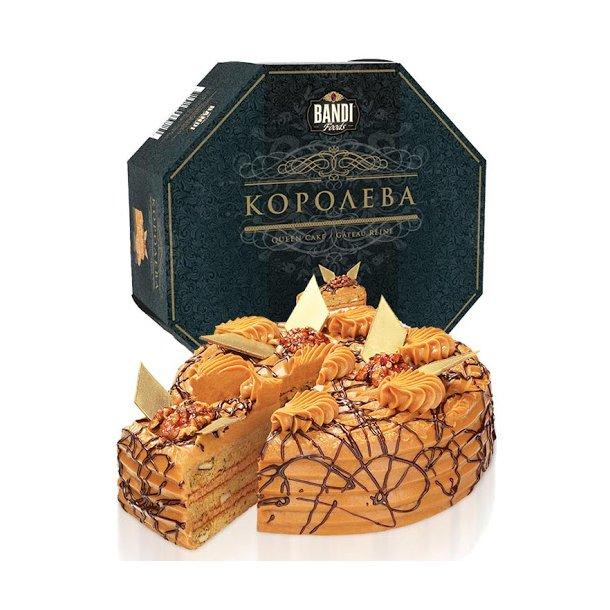 "Kake ""Dronning"" BANDI, frossen 1000g"