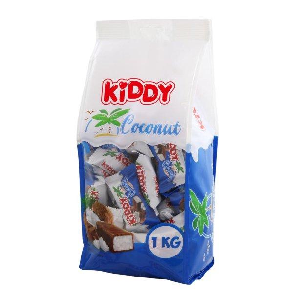 Konfekter med Sjokoladeglasur  KIDDY COCONUT, 1000g