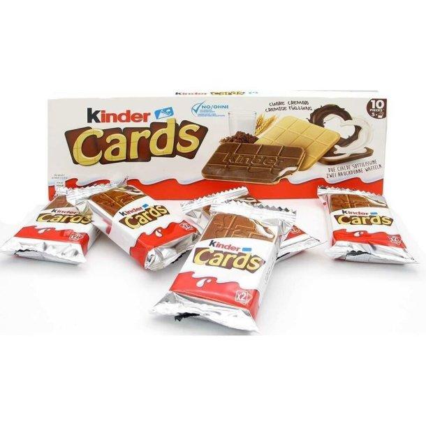 Kinder Cards Kjeks FERRERO, 138g (5stk)