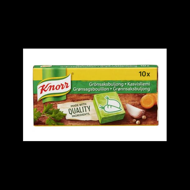 Knorr GRØNNSAKSBULJONG, 10stk