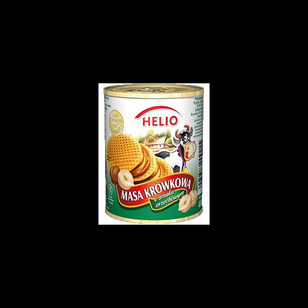 Kondensert melk med nøttesmak HELIO, 400g