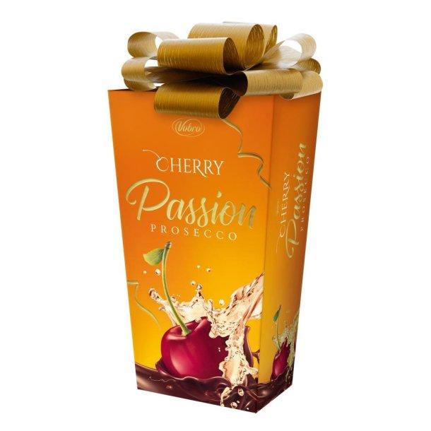 Konfekter Cherry Passion med Proseco Wine Vobro, 210g