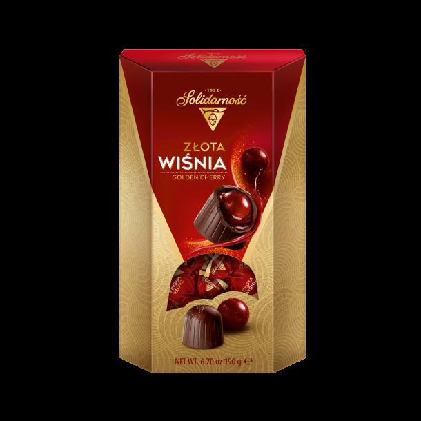 Kirsebær i Sjokolade SOLIDARNOŚĆ, 190g