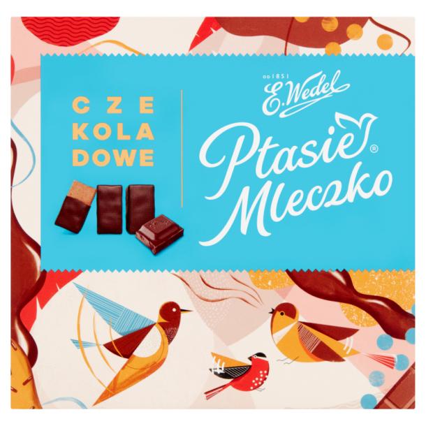 """Konfekter """"Ptasie Mleczko Czekoladowe"""" Wedel, 380g"""