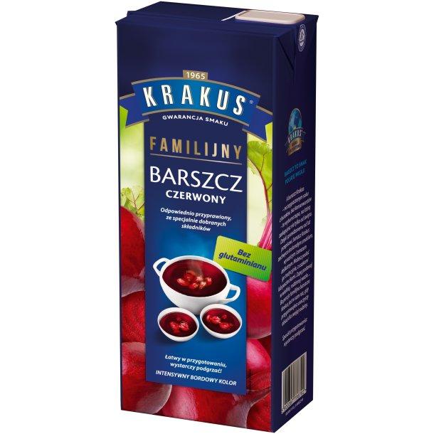 Krakus Barszcz Czerwony Rødbeter suppe, 1,5l