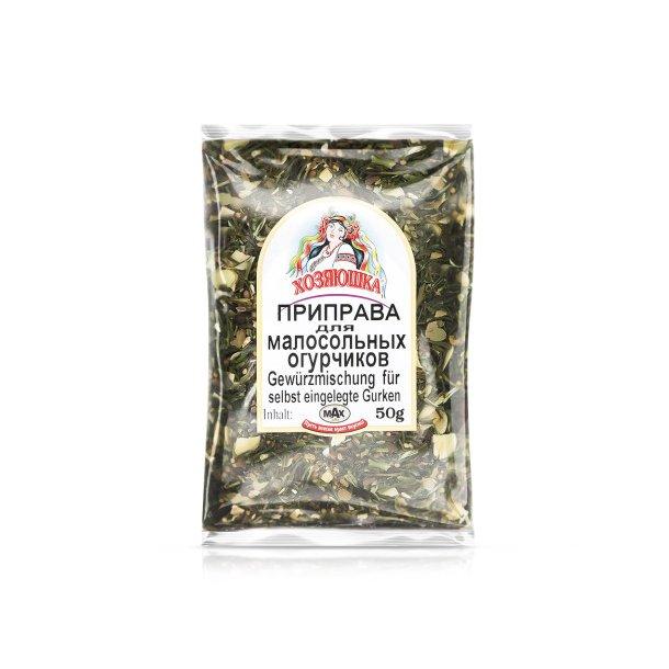 Krydder for Saltede Agurker , 50g