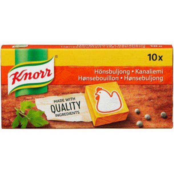 Knorr KYLLINGBULJONG Terninger 5l