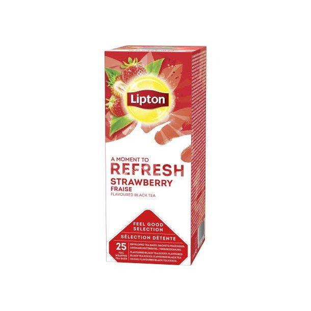 Lipton Refresh Strawberry te, 25 pos