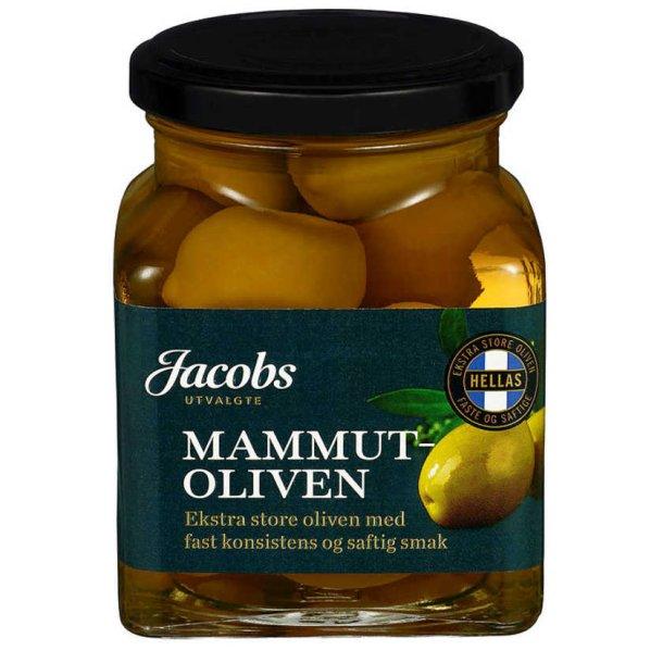 Mamut Oliven Jacobs, 300g