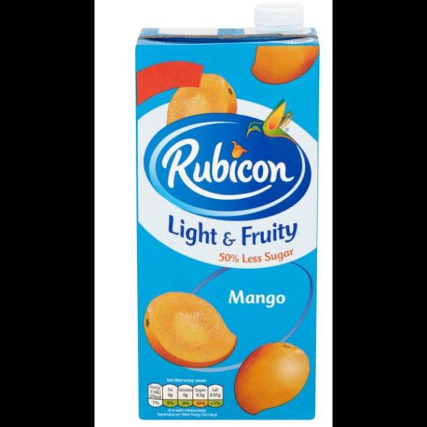 Mango Juice Drink Uten Sukker Rubicon, 1l