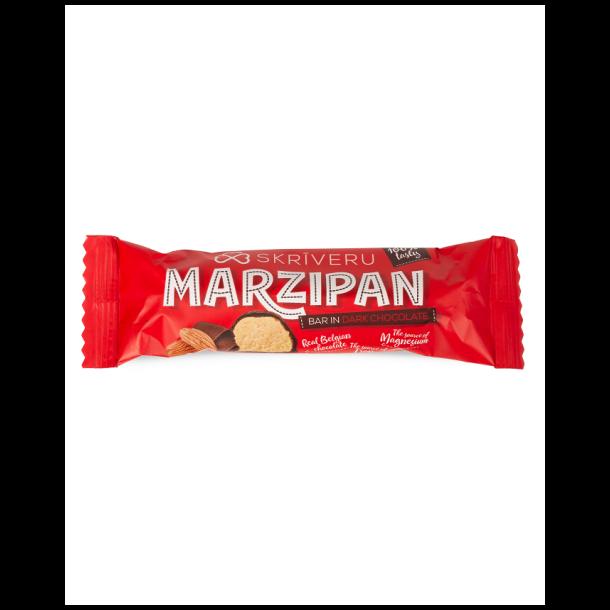 Marsipanbar med mørk sjokolade Skriveru, 40g