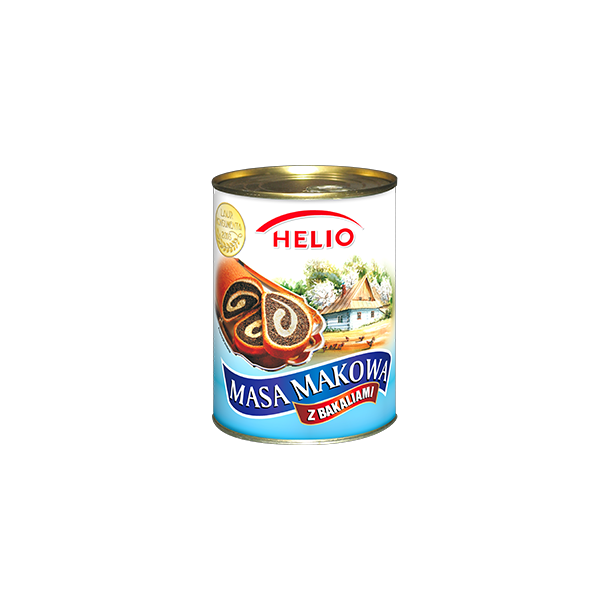Valmuefrø med sukker og krydder Helio, 850g