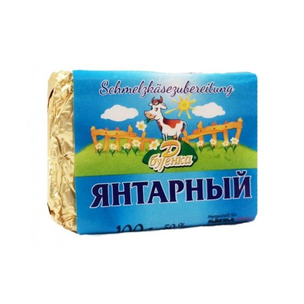 "Smør ost ""Jantarnyj"", 100g"