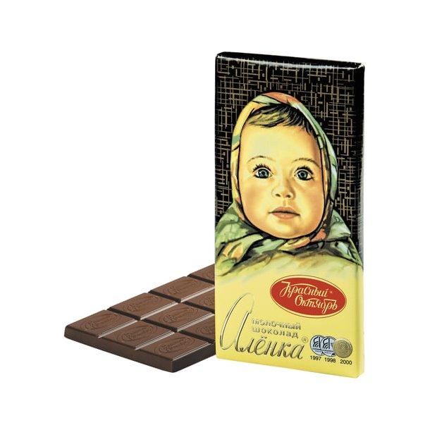 """Melkesjokolade """"Aljonka"""", 210g"""