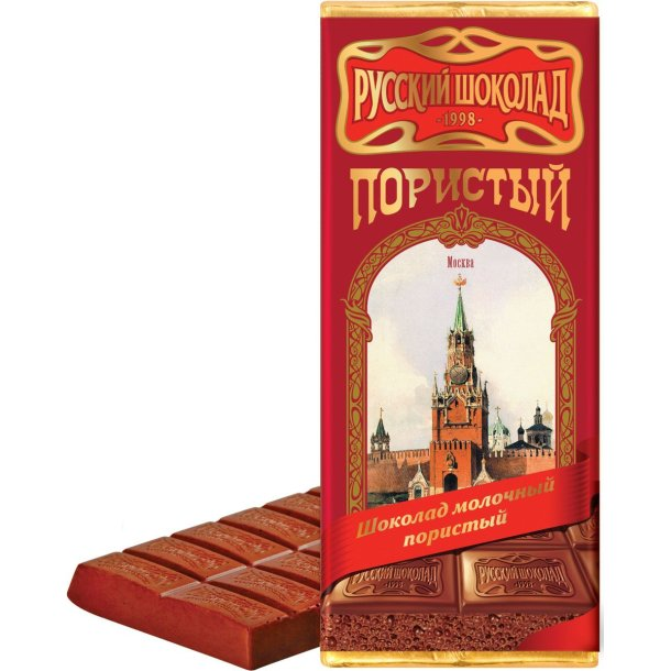 Melkesjokolade Luftet Moskva, 90g