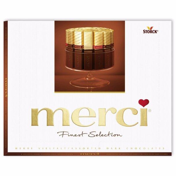 MERCI Mørk Sjøkolade Konfekter, 250g