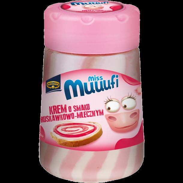 Pålegg med jordbær smak Miss Muuufi, 400g