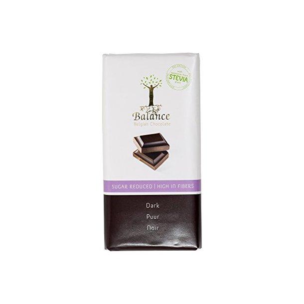 Mørk sjokolade med redusert sukker Balance, 100g