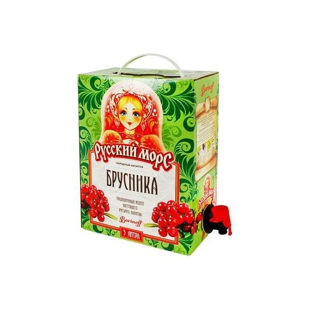 Russisk Drikke Mors -Tyttebær, 3l